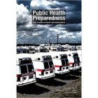Public Health Preparedness book cover row of ambulances