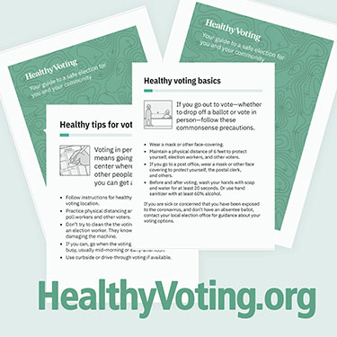healthy voting guides at HealthyVoting.org